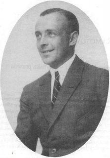 Kazimierz E. Skarżyński. Zdjęcie z lat 20. XX. Ze zbiorów rodzinnych Marii Skarżyńskiej