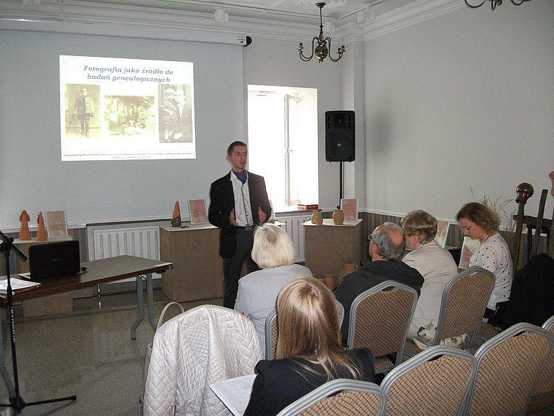 Spotkanie otworzył dyrektor biura ŁTN im. Wagów, mgr Kamil M. Leszczyński
