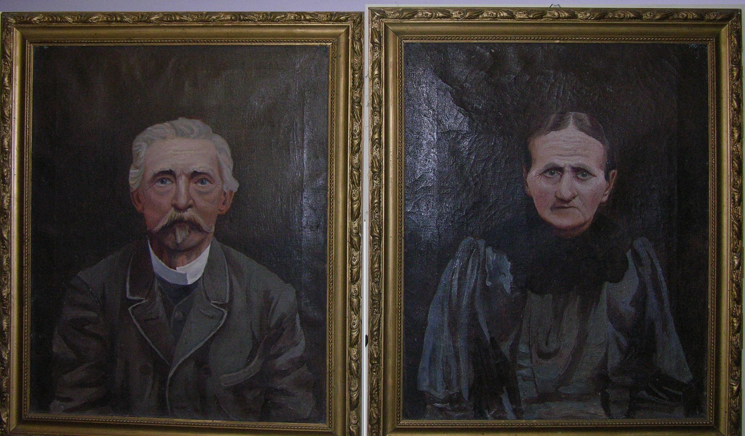 Wincenty i Józefa Paulina z Dmochowskich Skarzyńscy herbu Bończa