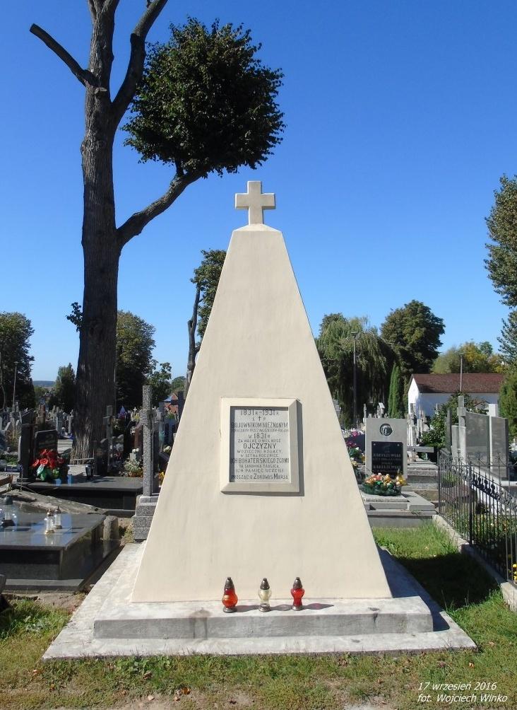 Pomnik ku czci powstańców z 1831r