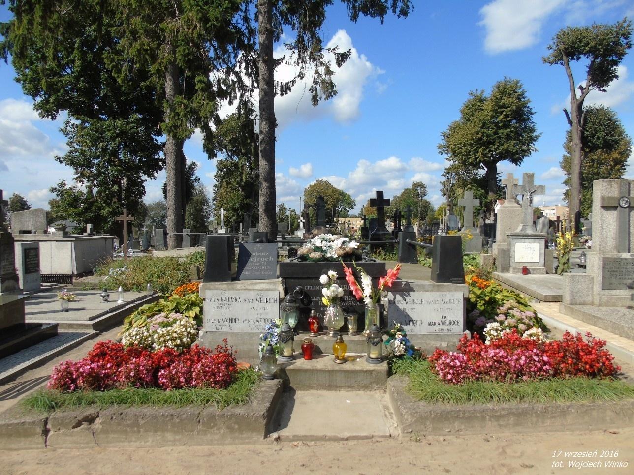 Grobowiec rodziny Wejrochów