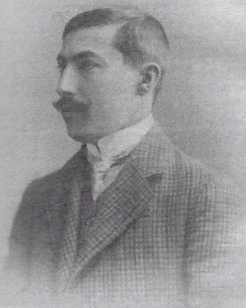 """Akiba Rubinstein, foto z 1907 r. """"Deutsche Schachzeitung"""", styczeń 1908"""