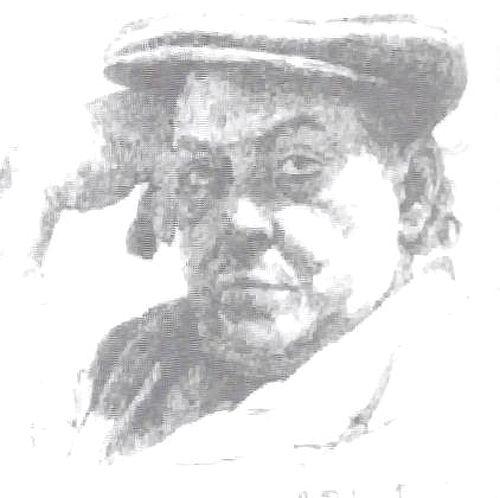 Portret Rubinsteina autorstwa syna Samy'ego z 1954 r.