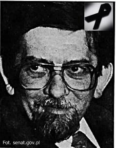 Mecenas Lech Kozioł (1939-2016) Senator I kadencji Senatu RP
