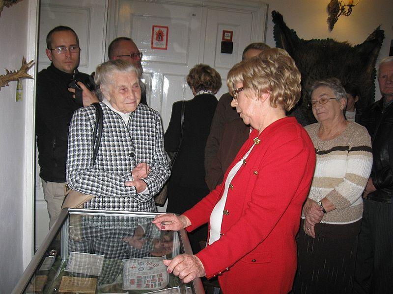 Danuta Pieńkowska-Wolfart - prezes Związku Sybiraków Oddziała w Łomży, córka autora Pamiętnika drozdowiaka