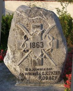 Pomnik powstańców pomordowanych przez carskich zaborców -1863