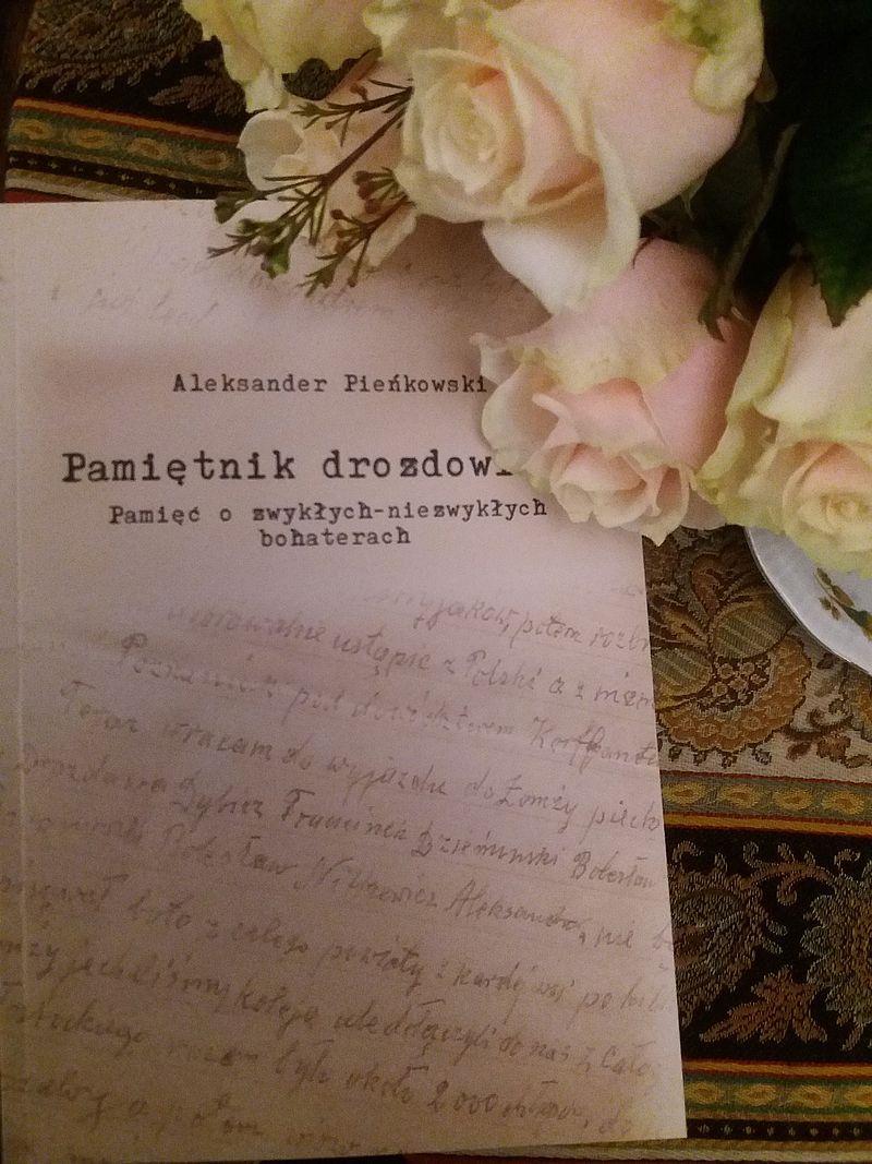 Strona tytułowa ksiazki Aleksandra Pienkowskiego