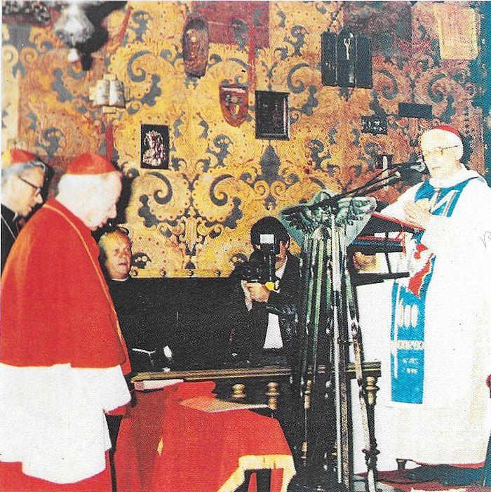 Z kard. J. Hoeffnerem w Kaplicy Matki Bożej.