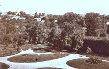 Park dawniej